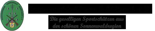 Sonnenwaldschützen Schöllnach e. V.
